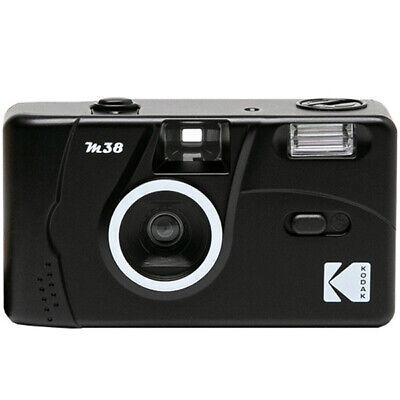 Kodak Vintage Retro M38 35mm Reusable Non-Disposable Film Camera (Black)