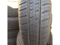 Tyres used part worn second hand