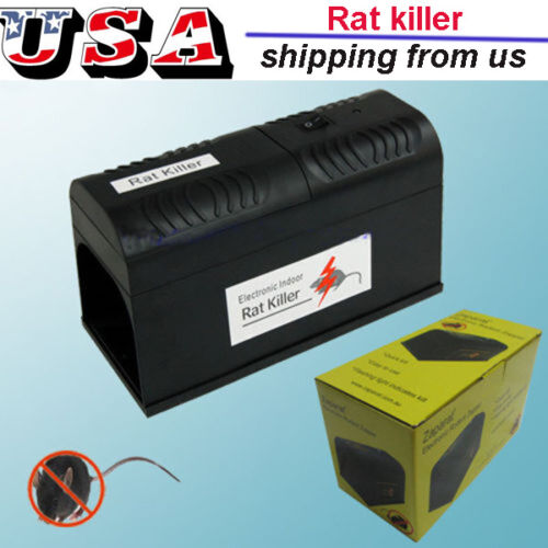 Hot Electronic Mouse Rat Rodent Killer Electric ...
