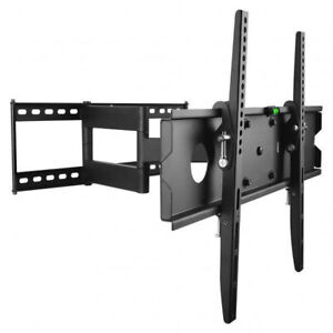 FULL MOTION TV WALL MOUNT BRACKET FOR 40-65 IN TV HOLD 50KG/110