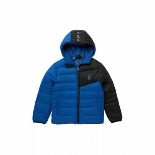 SPYDER I ACE SHORT NYLON PUFFER JACKET, XL (18/20)