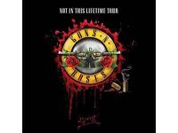 Guns n Roses golden circle ticket London sat 17th June