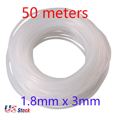Us Stock 50 Meters 1.8mm X 3mm Eco Solvent Ink Tube For Mimaki Mutoh Roland