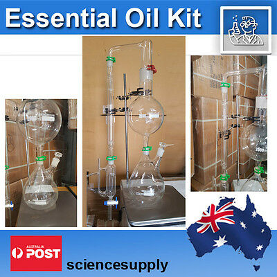Essential Oil Kit Distillation Steam Chemistry Distill Organic Legendary
