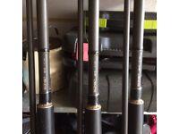 Sonik sk4 carp rods X 3
