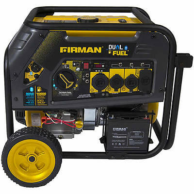 Firman H08053 - Hybird Series 8000 Watt Dual Fuel Generator W Electric Start