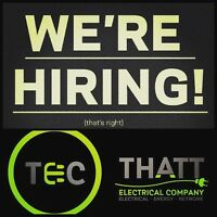 Immediate Opening for Foreman Licensed Electrician