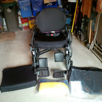 6 month old Invacare Type 3 Lightweigth Performance Wheelchair
