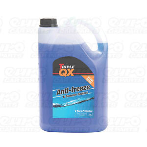 Triple-QX-5L-Blue-AntiFreeze-Summer-Coolant-5-Litre-Ltr-Ready-Mix