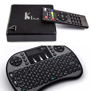 **SPECIAL** ~ Android 5.1.1 TV Box AND Keyboard Remote PACKAGE