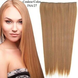 """CLIP IN ON HAIR EXTENSION CLIP,24"""", 60 CM,STRAIGH,Like REAL HAIR Yellowknife Northwest Territories image 3"""
