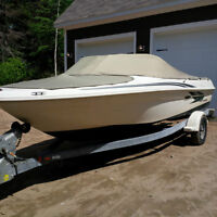 18Ft Searay Bowrider, 3.0L Merc, Galv Trailer