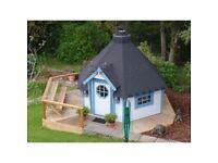 NEW 11m^2 Finman BBQ Hut from LOGSPAN