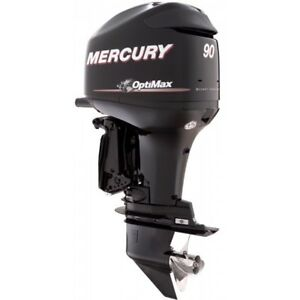 Used Mercury Optimax 90 hp Outboard w/rigging FINANCING OAC!
