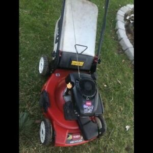 Toro Recycler 149 cc self propelled lawn mower with bag
