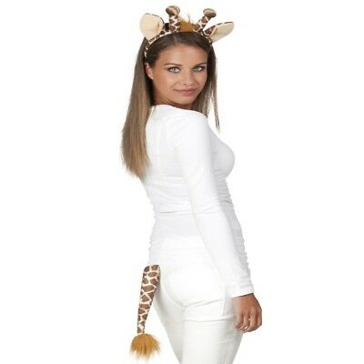 arreif und Schwanz - Tier Kostüm-Set  NEU (Giraffe Kostüme)