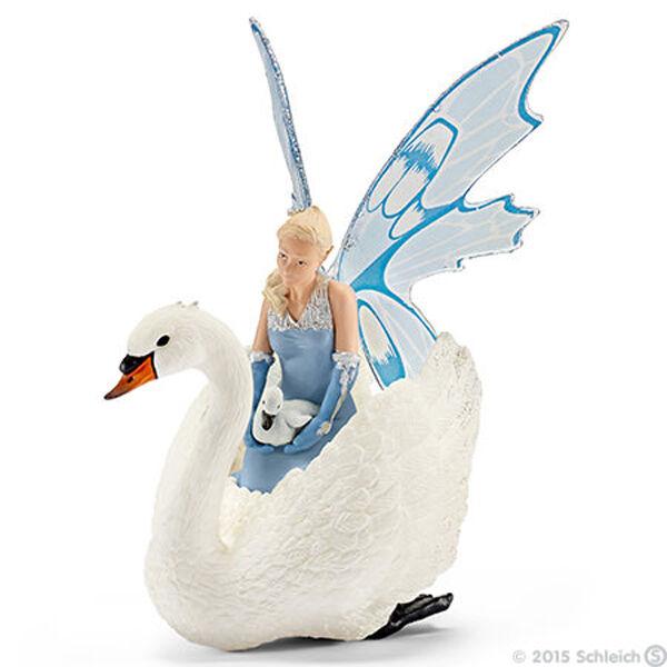 NEW SCHLEICH 70518 Bayala Larinya Fairy Elf with Cygnet & Swan - RETIRED