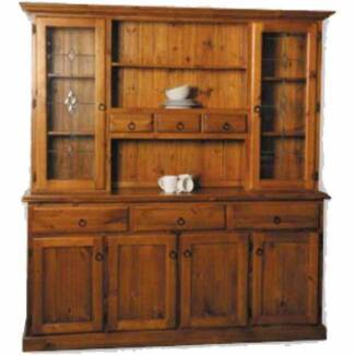 Sideboard plate cupboard country look cost $1200 new