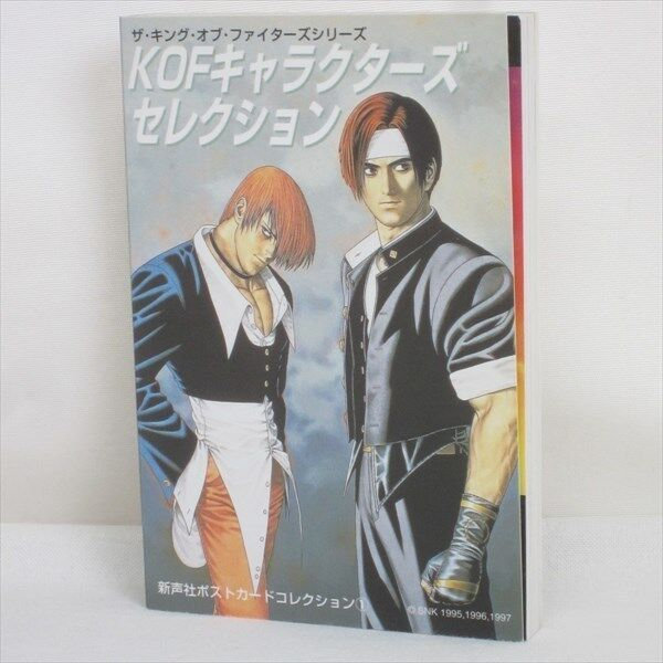 KOF CHARACTERS SELECTION King of Fighters Postcard Art Illusration Book SI*