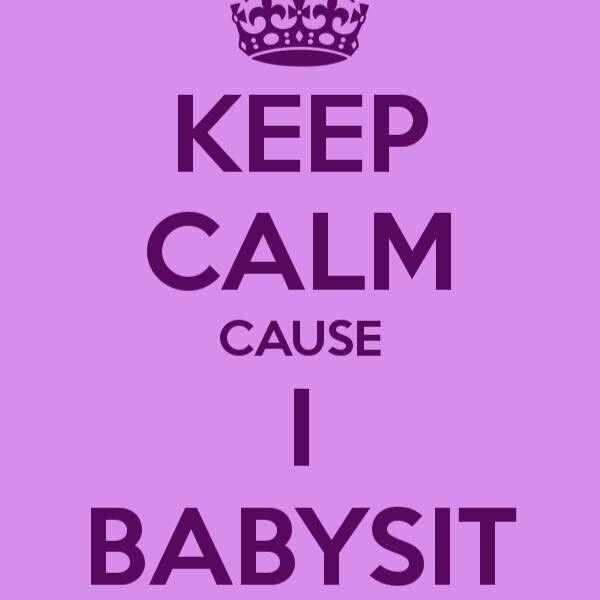 BABYSITTER AVAILABLE IMMEDIATELY!!!