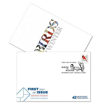 USPS New Birds in Winter Ceremony Program (Random)