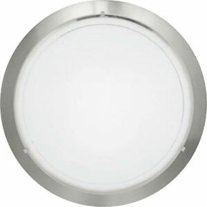 Eglo 83162 'Planet1' Circular Ceiling Light Fitting E27 Satin Nickel