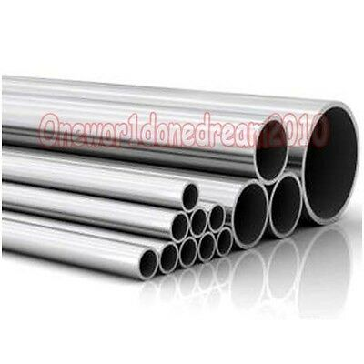 2x Titanium Grade 2 Tubes Tubing Od 60mm X 58mm Id Wall 1mm Length 50cm Each