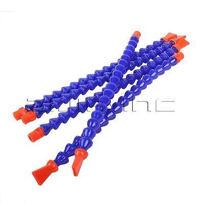 5x Coolant Pipe 14 Pt Flat Nozzle Water Oil Hose Cnc Lathe Milling Machine