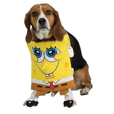 NWT SpongeBob SquarePants - Sponge Bob Pet Dog Costume Size Medium Halloween