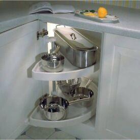 Kitchen Carousel 1/2 Circle- Corner Unit