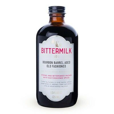 Bittermilk No.1 Bourbon Barrel Aged Old Fashioned Cocktail Mixer - 8.5 oz
