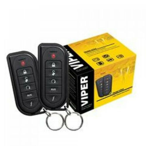 VIPER 4104 1-WAY REMOTE START SYSTEM AND KEYLESS ENTRY VIPER 4104V