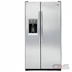 "33"" 23.1 Cu. Ft. Side-By-Side Counter-Depth Refrigerat"