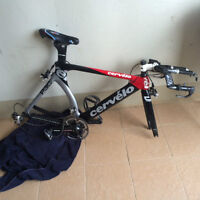 Cervelo P3C Size: 51cm (With Brand new Nike road cycling shoes)