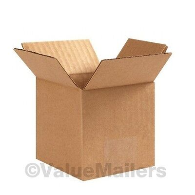 4x4x4 300 Shipping Packing Mailing Moving Boxes Corrugated Carton 100 % - 4x4x4 Boxes