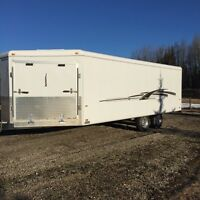 24' enclosed trailer