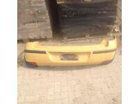 Corsa c 2005 facelift rear bumper in yellow y 40k 07594145438