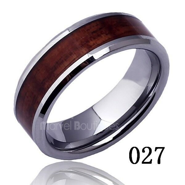 Men Women Tungsten Carbide Band Ring Engagement Wedding Anniversary Size 5 -15