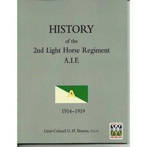 History of the 2nd Australian Light Horse Regiment AIF ALH  Anzac Sinai