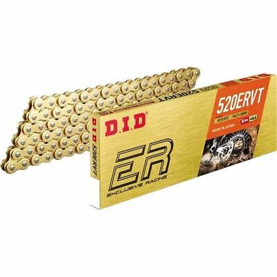 Gold Sz 120 Links DID 520ERVT X-Ring Chain