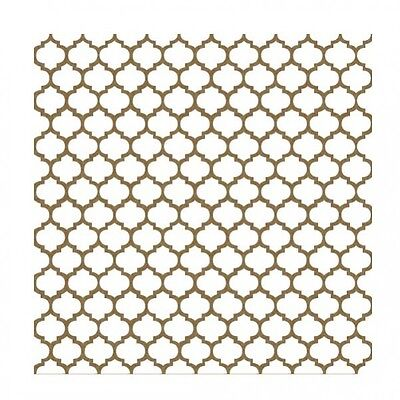 Creative Embellishments Chipboard - Moroccan Lattice Panel