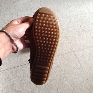 Brand new brown moccasins, size 5.5 Cambridge Kitchener Area image 7