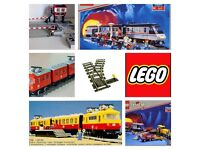 *LEGO trains WANTED* 80s-90s