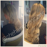 SHE Smart Hair Extensions *Fusion*Nano*Micro*Tapein