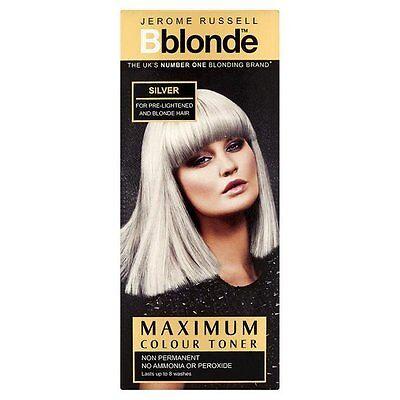 Jerome Russell BBlonde  Toner Colour Silver Non Permanent 75ml