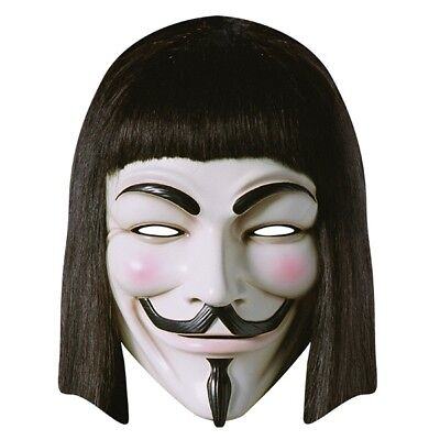 or Vendetta Card Mask Karneval Fasching Neu (V For Vendetta Kostüme)