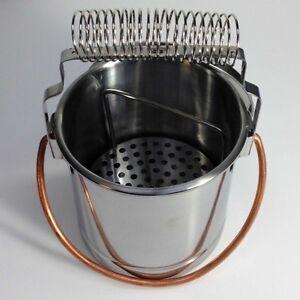Artist stainless steel paint brush washer cleaner bath for European steel enamel bathtub