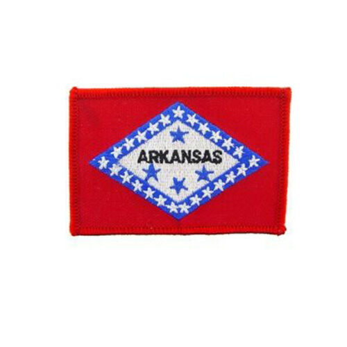 ARKANSAS STATE SEW ON OR IRON ON PATCH