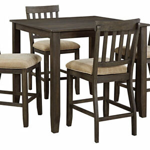Counter Height Dining Room Table Set - NO TAX & FREE SHIPPING!!