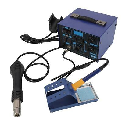 862d 2 In 1 Hot Air Gun And Soldering Station Digital Display Constant-temperatu